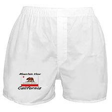 Mountain View California Boxer Shorts