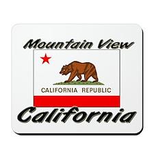 Mountain View California Mousepad