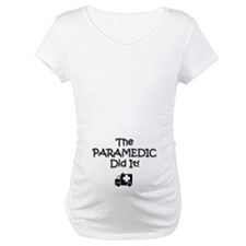 DAD PARAMEDIC - Shirt - w/b