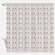 Tall Birds Pattern Shower Curtain