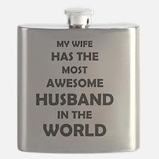 Funny Awesome husband Flask