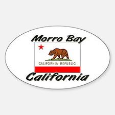 Morro Bay California Oval Decal