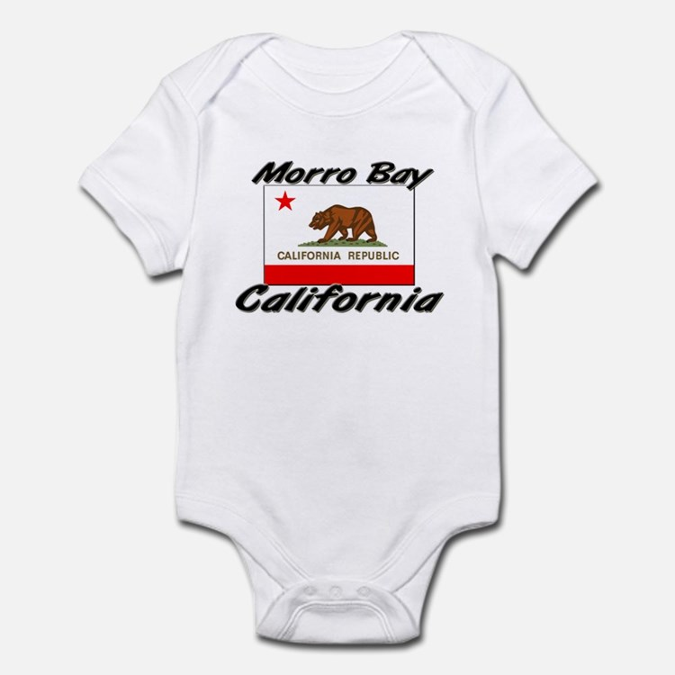Morro Bay California Infant Bodysuit