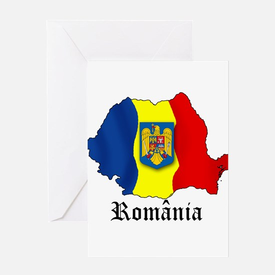 Romania arms Greeting Card