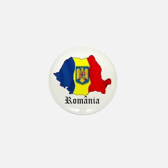 Romania arms Mini Button