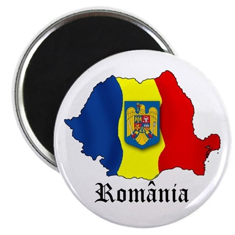 """Romania arms 2.25"""" Magnet (10 pack)"""