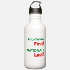 YourTown First - Nationals Last Sports Water Bottl