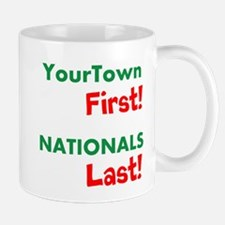 YourTown First - Nationals Last Mugs