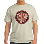 Light T-Shirt with Marvel Oil Company Logo