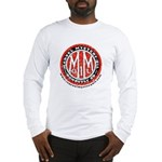 Retro Marvel Round with web Long Sleeve T-Shirt