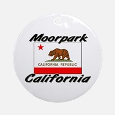 Moorpark California Ornament (Round)