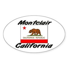 Montclair California Oval Decal