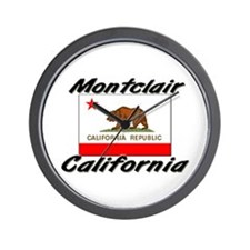 Montclair California Wall Clock