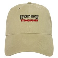 """The World's Greatest Stenographer"" Baseball Cap"