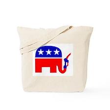 REPUBLICAN GAS Tote Bag