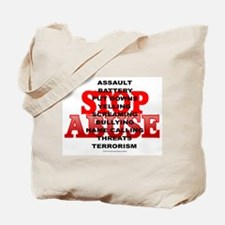 Cute Support domestic violence awareness Tote Bag