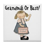 Going to Grandmas Tile Coaster