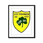 USS O'Bannon (DD 450) Framed Panel Print