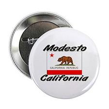 Modesto California Button