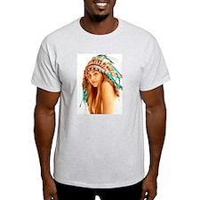 Indian warrior 27 T-Shirt