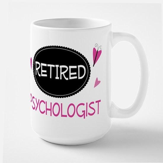 Retired Psychologist Mugs