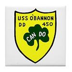 USS O'Bannon (DD 450) Tile Coaster