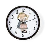 Grandma's or Bust Wall Clock