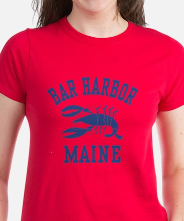 Bar Harbor Maine Women's Dark T-Shirt