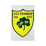 USS O'Bannon (DD 450) Rectangle Magnet