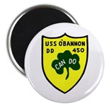 """USS O'Bannon (DD 450) 2.25"""" Magnet (100 pack)"""