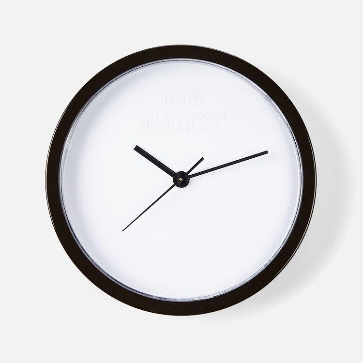 100% DARCY Wall Clock