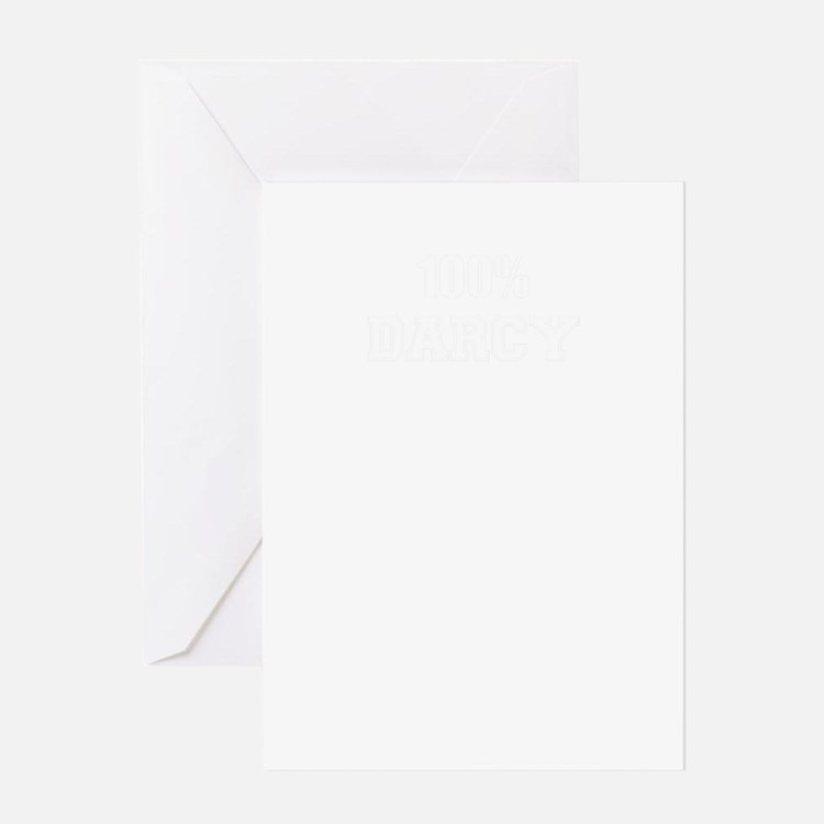 100% DARCY Greeting Cards