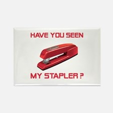 Red Stapler Rectangle Magnet