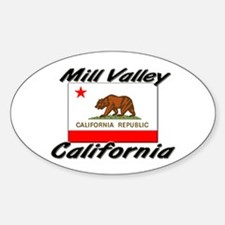 Mill Valley California Oval Decal
