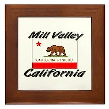 Mill Valley California Framed Tile