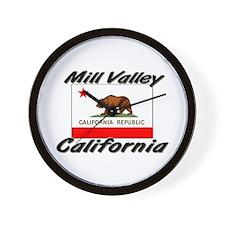 Mill Valley California Wall Clock