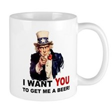 Want You To Get Me a Beer Mug