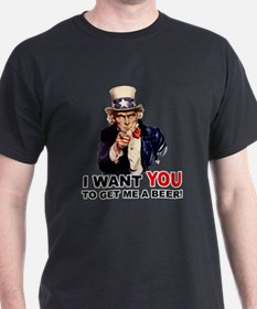 Want You To Get Me a Beer T-Shirt