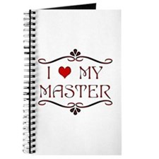 'I Love My Master' Journal/Diary