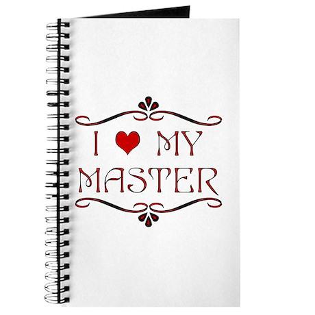 'I Love My Master' Journal/Diary