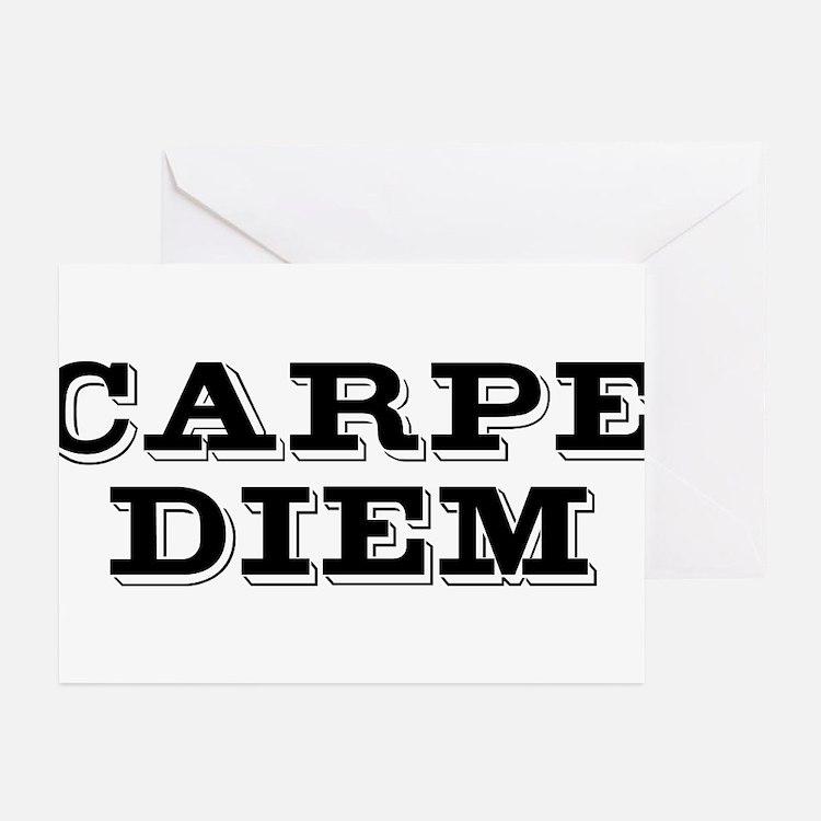 """""""Carpe Diem"""" Greeting Cards (Pk of 20)"""