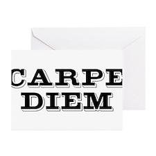 """""""Carpe Diem"""" Greeting Cards (Pk of 10)"""
