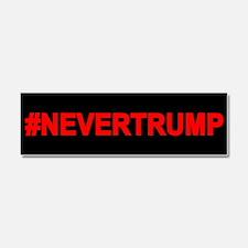 Never Trump Car Magnet 10 X 3