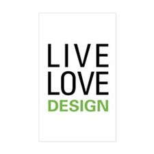 Live Love Design Decal