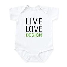 Live Love Design Infant Bodysuit
