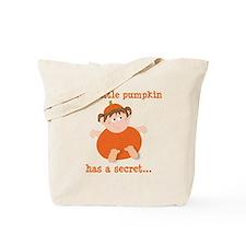 little pumpkin big sister Tote Bag