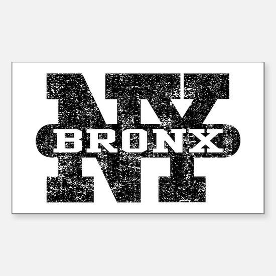 Bronx NY Sticker (Rectangle)