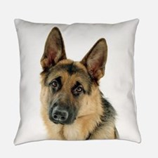 german shepherd Everyday Pillow
