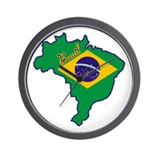 Cool Brazil Wall Clock