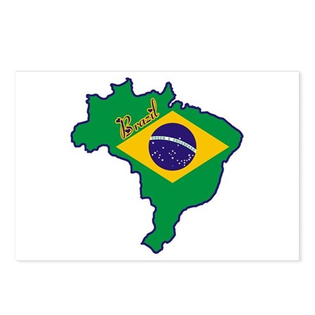 Cool Brazil Postcards (Package of 8)